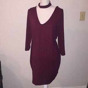 love chesley Dresses - Garnet chocker dress! Perfect for holidays!💃🏼👠